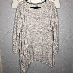 Calvin Klein asymmetrical tunic